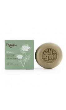 Jabón de Alepo natural - Comino negro - Reequilibrante - Najel - 100 g.
