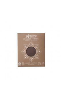 Recharge fard à paupières bio nacré 284 Rose noire - BoHo Green Cosmetics - 1,8 g.