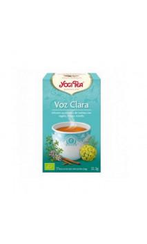 Infusion bio Yogi Tea Réconfort de la Gorge - YOGI TEA - 17 sachets x 1,8g
