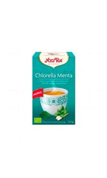Infusion bio Yogi Tea Chlorella Menthe - YOGI TEA - 17 sachets x 1,8g