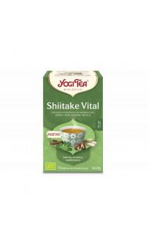 Infusión ecológica Shiitake vital - YOGI TEA - 17 bolsitas x 1,8g