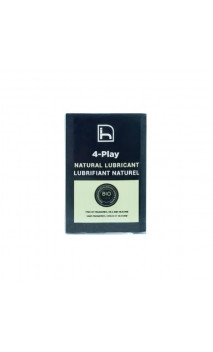 Pack 10 Monodoses Lubrifiant naturel 4-Play - Aloe Vera - HOMO NATURALS - 10 U. de 5ml.