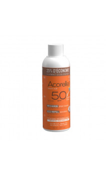Recharge Spray solaire BIO enfant SPF 50 - Sans Parfum - Acorelle- 150 ml