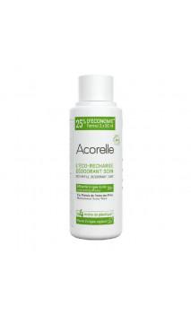 Recharge Déodorant bio Roll-on Efficacité Longue durée - Acorelle - 100 ml.