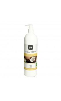 Gel douche bio Exotique - Vanille & Coco bio - Naturabio cosmetics - 740 ml.