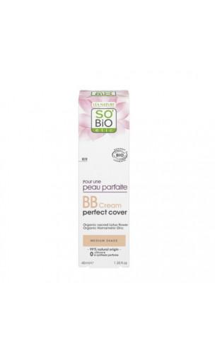 BB Cream BIO Perfect Cover 02 Medium - SO'BiO étic - 40 ml.