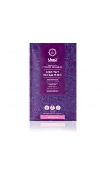 Shampoing bio en Poudre Ayurvédique - Sensitive Herbal Wash - Khadi - 50 g.