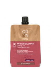 Masque bio anti-rides Raffermissant - Grape & Olive - GRN Shades of nature - 40 ml.
