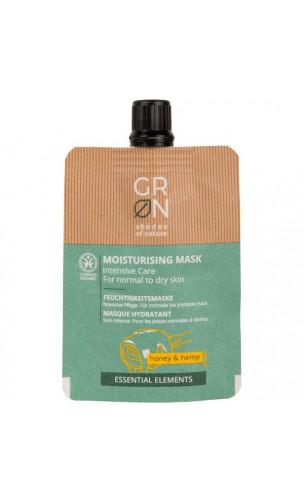 Mascarilla facial ecológica Hidratante Intensa - Miel & Cáñamo - GRN Shades of nature - 40 ml.