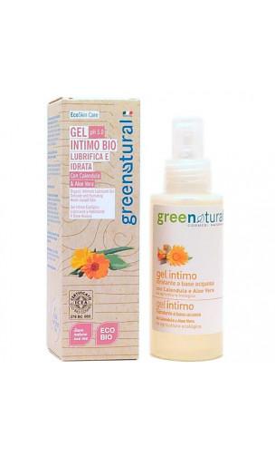 Gel intime BIO hydratant et lubrifiant - Aloe vera & Calendula - Greenatural - 100 ml.