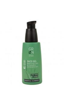 Gel facial ecológico Equilibrante - Cáñamo, Ácido Hialurónico & Aloe vera bio - GRN Shades of nature - 50 ml.