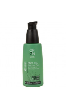 Gel visage bio équilibrant - Aloe vera & Chanvre - GRN Shades of nature - 50 ml.
