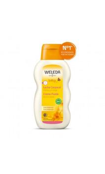 Leche corporal ecológica de Caléndula para bebé - Weleda - 200 ml.