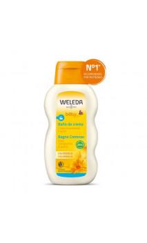 Bain crème bio au calendula pour bébé - Weleda - 200 ml.