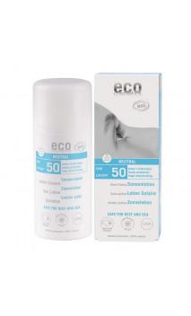 Loción solar bio NEUTRAL SPF 50 - Oliva - Sin perfume - EcoCosmetics - 100 ml