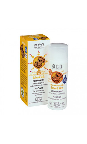 Crème Solaire naturelle Baby & Kids SPF 45 - EcoCosmetics - 50 ml