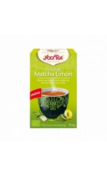 Té verde ecológico - Matcha Limón - YOGI TEA - 17 bolsitas x 1,8g
