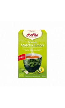 Thé vert bio Yogi Tea Matcha Citron - YOGI TEA - 17 sachets x 1,8g