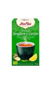 Té Verde ecológico - Jengibre y Limón - YOGI TEA - 17 bolsitas x 1,8g