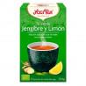 Thé vert bio Yogi Tea Gingembre Citron - YOGI TEA - 17 sachets x 1,8g