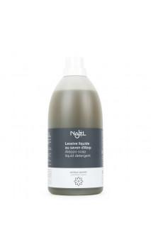 Lessive liquide Naturelle au savon d'Alep - Parfumée au jasmin - Najel - 2 L