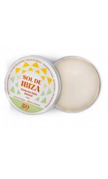 Protecteur solaire BIO SPF50 - Sans dioxyde de titane & Sans parfum - Sol de Ibiza - 100 ml.