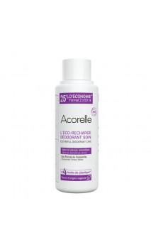 Recharge Déodorant bio Roll-on Spécial Peau sensible - Acorelle - 100 ml.
