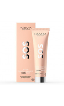 Mascarilla facial ecológica SOS Hidratante & Calmante - MÁDARA - 60 ml.