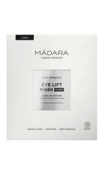 Mascarilla ecológica Contorno de ojos Reafirmante & Hidratante -TIME MIRACLE - MÁDARA - 3 pares