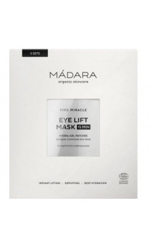 Masque yeux BIO Time Miracle Hydra-Gel Patch - MÁDARA - 3 paires