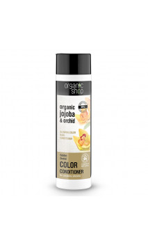 Après-shampoing naturel Resplandissent - Orchidée & Jojoba - Organic Shop - 280 ml.