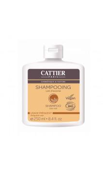 Shampooing bio au Lait d'Avoine - Usage fréquent - Cattier - 250 ml.