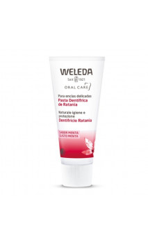 Pâte dentifrice bio Ratanhia - Weleda - 75 ml.
