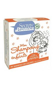 Shampooing solide bio pour enfants - Secrets de Provence - 85 gr.