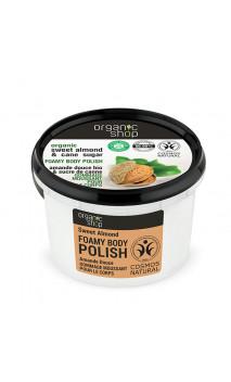 Exfoliante corporal natural Espumoso - Almendra dulce - Organic Shop - 250 ml.