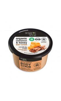 Soin exfoliant naturel - Miel & Cannelle - Organic Shop - 250 ml.