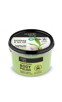 Soin exfoliant naturel - Bambou Tropical - Organic Shop - 250 ml.