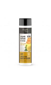 Bain moussant naturel - Douceur - Citron & Miel - Organic Shop - 500 ml.