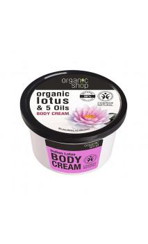 Crème corporelle naturelle - Indian Lotus - Organic Shop - 250 ml