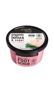 Exfoliante para pies natural - Azúcar de Loto - Organic Shop - 250 ml