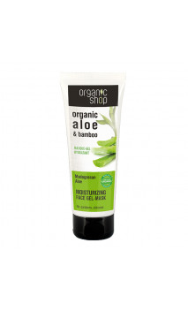 Gel-masque naturel Hydratant - Aloe de Madagascar - Organic Shop - 75 ml
