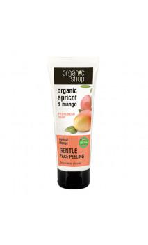 Peeling facial naturel Doux - Abricot et Mangue - Organic Shop - 75 ml