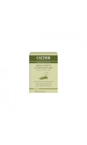 Argile verte naturelle Ultra ventilée - Cattier -  250gr.