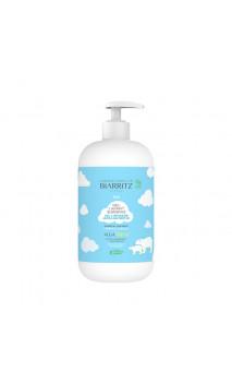 Gel lavant Surgras bio bébé - Corps et cheveux - Alga Natis - Laboratoires Biarritz - 500 ml.