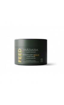 Mascarilla capilar natural FEED - Cabello seco & dañado - MÁDARA - 180 ml.