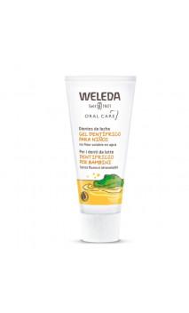 Gel dentifrice BIO pour enfant -Sans fluor - Weleda - 50 ml.
