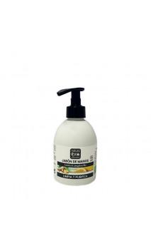 Jabón de manos ecológico Jengibre & Limón - NaturaBIO Cosmetics - 300 ml.