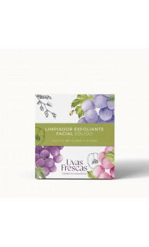 Limpiador exfoliante facial sólido bio - Uva, Karité & Mango - Uvas Frescas - 70 g.