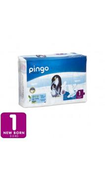 Pañales ecológicos Talla 1 Recién nacido 2-5 Kg - 27 unidades - PINGO