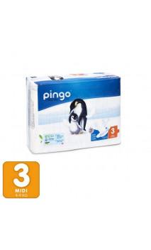 Couches écologiques Taille 3 MIDI 4-9 Kg- 44 unités - PINGO